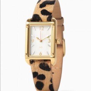 Exotic animal print watch